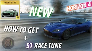 NEW Aston Martin DBS Superleggera Tune | Forza Horizon 4 How To Get Aston Martin DBS Superleggera