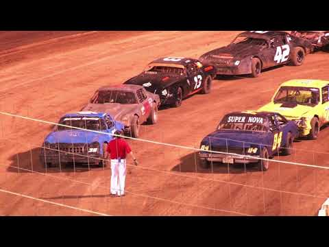 Perris Auto Speedway American Factor Stock Main Event  10-16-21 - dirt track racing video image