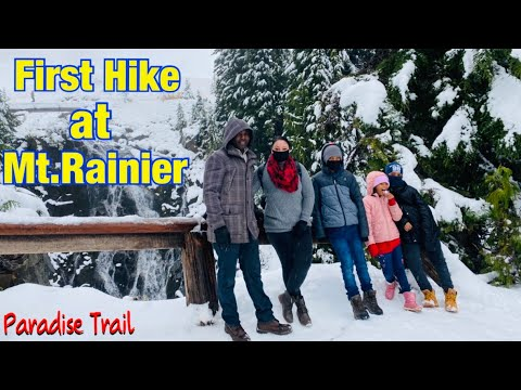 We went hiking on a Volcano! Paradise Trail Mt. Rainier | Hike Washington | Expedition Happiness Ep8