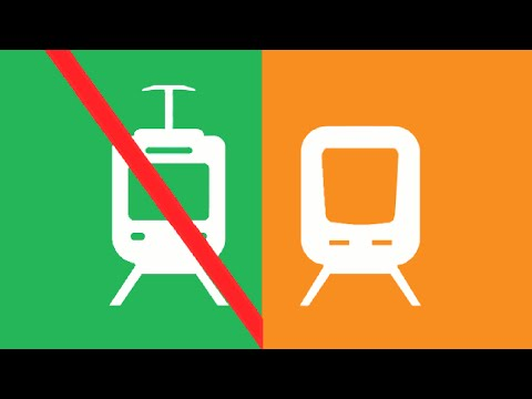 SkyTrain for Surrey: Light Rail Doesn't Work