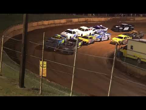 Stock 4a at Winder Barrow Speedway October 9th 2021 - dirt track racing video image