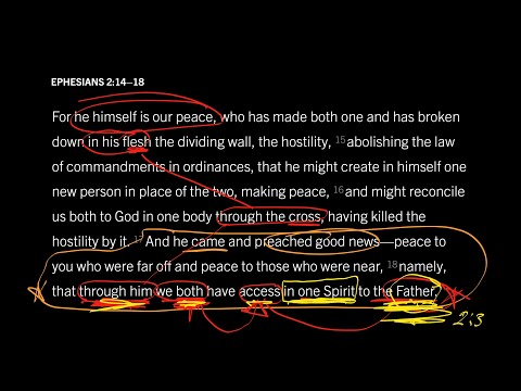 Ephesians 2:1418 // Part 5 // The Crescendo of Our Peace with God