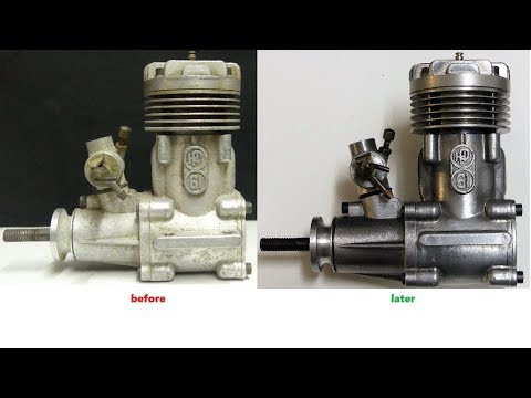 How to restore an old RC Nitro Engine for the glass showcase - UClhTH8PrfR9ENhzIh4zxCYg