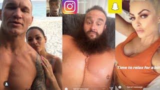WWE Snapchat/Instagram ft. Randy Orton, R-Truth, Braun Strowman, Alexa Bliss, Mandy Rose n MORE