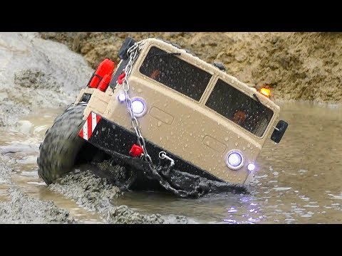 BIGGEST RC ADVENTURE 2019! HEAVY RAIN AND MUD FOR THE MAZ 537BC8 & THE MAN - UCT4l7A9S4ziruX6Y8cVQRMw