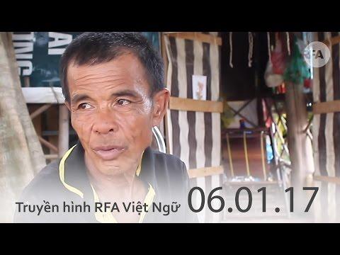 Truyền hình RFA 10h tối 06.01.17 Tin tức thời sự Việt Nam
