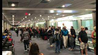 US Customs and Border Protections Systems Down, Airports Nationwide Affected, Expect Delays