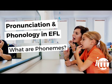 Pronunciation and Phonology in the EFL Classroom - Phonemes