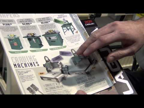 Demonstrating General CNC's i-Carver Carving Machine and Carving Software