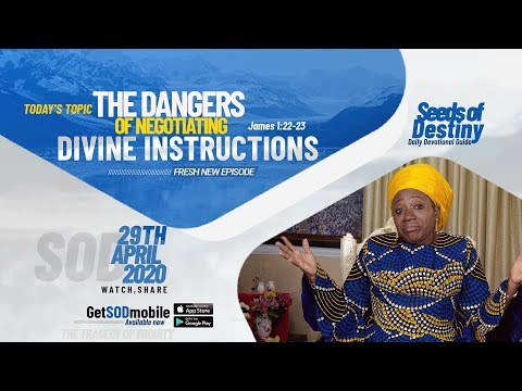 Dr Becky Paul-Enenche - SEEDS OF DESTINY  WEDNESDAY APRIL 29, 2020