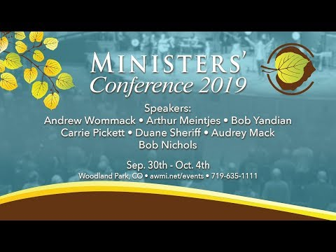 Ministers Conference 2019