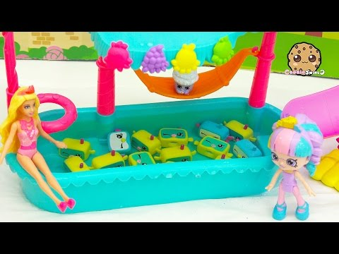 School Of Snorky Pool - Shopkins Happy Places Doll Rainbow Kate + Barbie Go On Vacation - UCelMeixAOTs2OQAAi9wU8-g