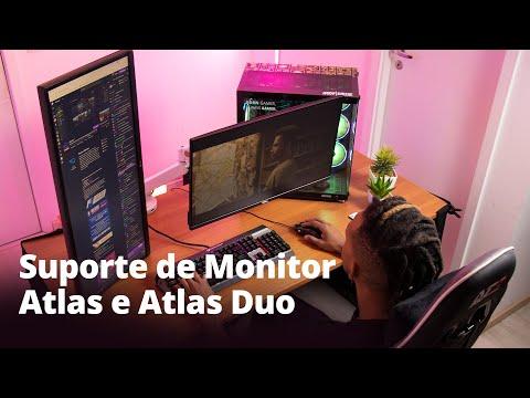 Suporte de Monitores Duplo e Individual   Atlas e Atlas Duo