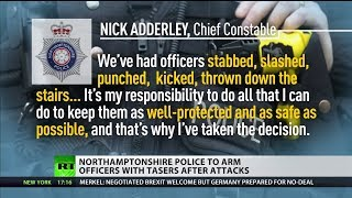Northamptonshire Police to arm officers with tasers after attacks