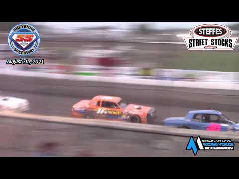 Sheyenne Speedway WISSOTA Street Stock A-Main (8/7/21) - dirt track racing video image