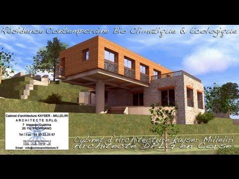 Cabinet d'Architecture Kayser Milleliri, Architecte DPLG en Corse à Propriano - Tel : 06 60 58 06 25 http://www.corsicarchitecture.fr