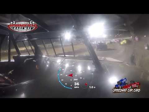 #54 Shawn Whitman - Usra Bmod - 5-23-2021 Springfield Raceway - In Car Camera - dirt track racing video image
