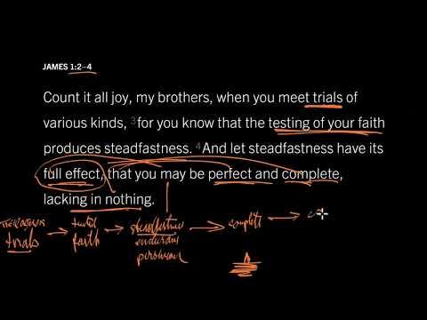 James 1:1215 // Is God Testing Me?