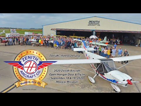 Zenith Hangar Days, Zenith Workshop, Midwest LSA Expo 2020