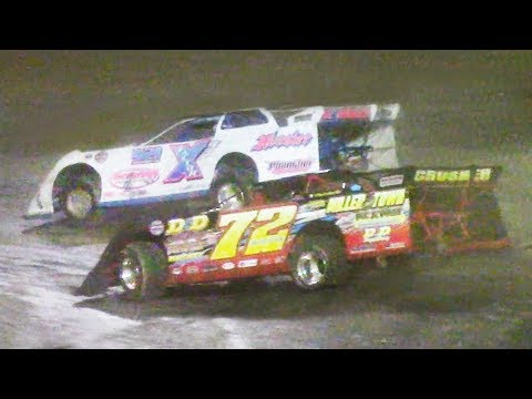 Super Late Model Feature | Stateline Speedway | 7-19-18 - dirt track racing video image
