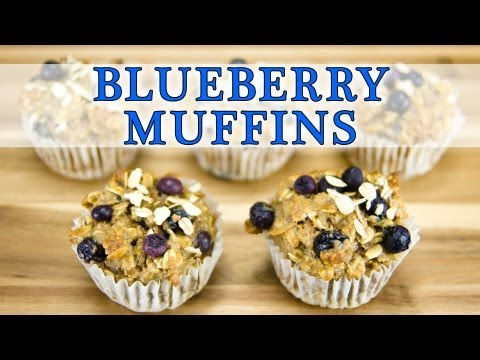 Blueberry Bran Muffin Recipe (Healthy & Tasty): Cookies Cupcakes and Cardio - UCg-YSRB6TsIq-c5PUZ0F1Jg