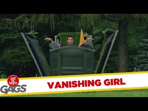 Girl Vanishes In Thin Air Prank