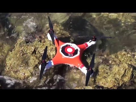 Splash Drone Waterproof Quadcopter Kickstarter Preview - UC7he88s5y9vM3VlRriggs7A