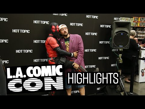 Highlights from LA Comic Con! - UCTEq5A8x1dZwt5SEYEN58Uw
