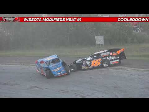www.cooleddown.tv   LIVE LOOK-IN   Rea Memorial, Race #1 from Emo Speedway Emo, ON August 21st, 2021 - dirt track racing video image