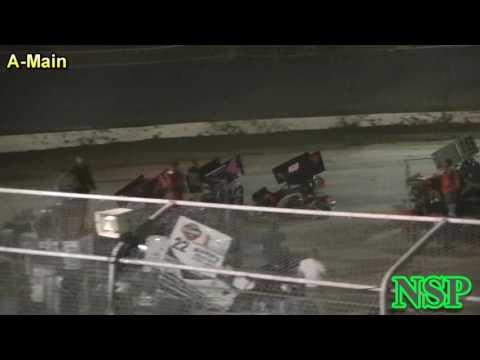 August 19, 2016 600 Restricted Mini Sprints A Main - dirt track racing video image