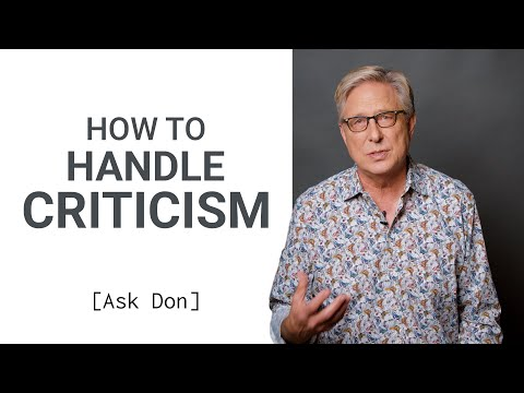 How to Handle Criticism as a Worship Leader  Ask Don