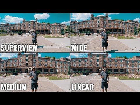 GoPro Wide Angle Comparison