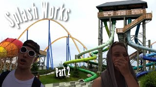 Splash Works - Canada's Wonderland Waterpark Vlog #11