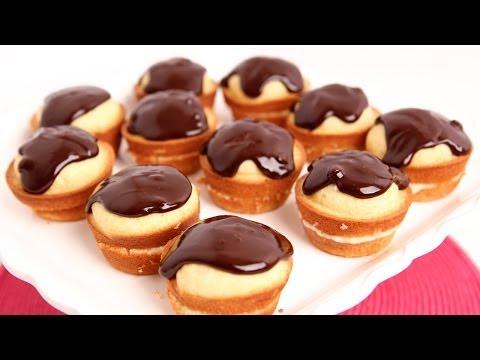Boston Cream Cupcakes Recipe - Laura Vitale - Laura in the Kitchen Episode 737