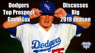 Dodgers Prospect Gavin Lux Discussess Big 2019 Season