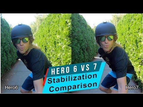 GoPro Hero 7 HyperSmooth vs Hero 6 Stabilization Comparison - GoPro Tip #618 - UCTs-d2DgyuJVRICivxe2Ktg