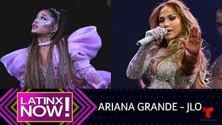 Ariana Grande y Jennifer Lopez sentimentales en sus conciertos | Latinx Now! | Entretenimiento