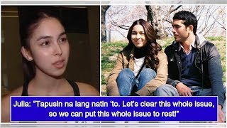 Julia Barretto finally reveals real score between her and Gerald Anderson
