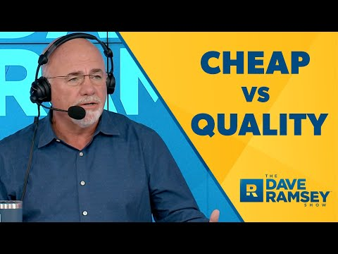 Cheap vs Quality: Which is Better When You're in Debt?