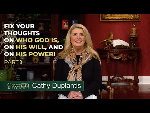 Voice of the Covenant Bible Study, March 2021 Week 3  Cathy Duplantis