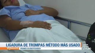 Ligadura de trompas método más usado para prevenir embarazos