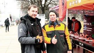 Esame dėkingi Virgilijui už kartu pasiektą naują Lietuvos rekordą