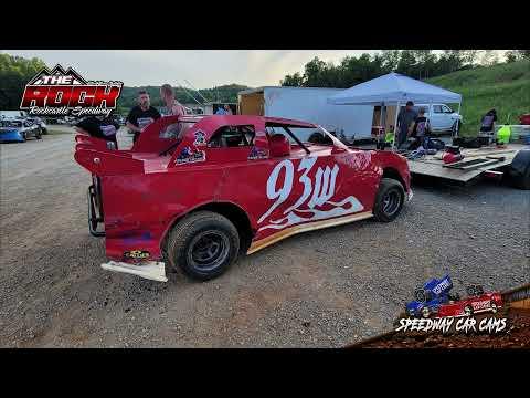#93W Joseph Whalen - Mini Stock - 6-5-21 Rockcastle Speedway - dirt track racing video image
