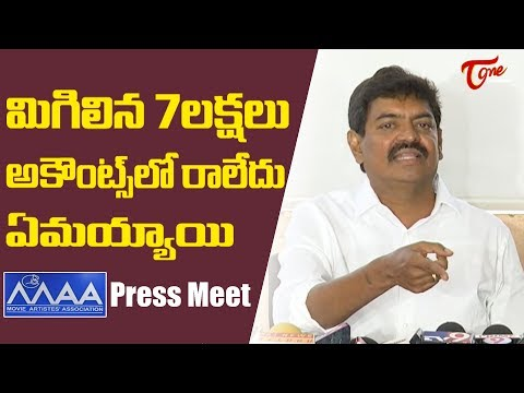 Sivaji Raja Controversial Press Meet | MAA Elections 2019 | TeluguOne