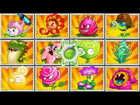 All Premium Plants in Plants vs. Zombies 2: Power-Up! (Chinese Version) - default