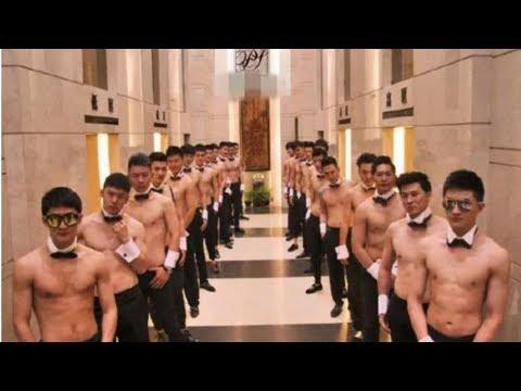 Cảnh sát Thượng Hải triệt phá club dành cho các nữ triệu phú giải trí với trai đẹp