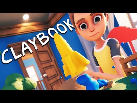 CLAY ROCKETS and CLAYMATION PUZZLES! - Claybook Gameplay - UCK3eoeo-HGHH11Pevo1MzfQ