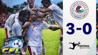 MOHUN BAGAN 0-3 PEERLESS FC - CALCUTTA FOOTBALL LEAGUE 2019 - ALL GOALS 🔥