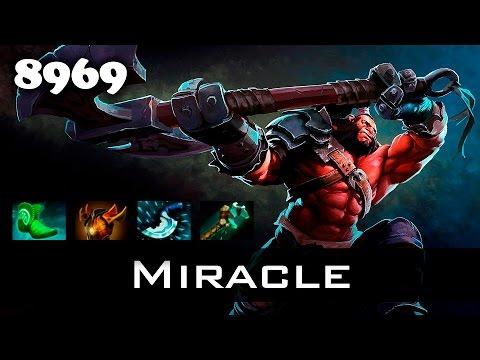 Miracle Axe - 8969 MMR Ranked Dota 2