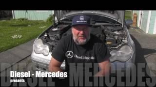 Sostituzione filtro aria Mercedes C W203